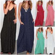 76557b05003 US Women BOHO Long Evening Party Cocktail Prom Summer Beach Maxi Dress  Sundress  DivaWear