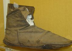 Boot from the Coppergate dig, Jorvik Viking Centre
