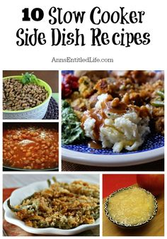 10 Slow Cooker Side