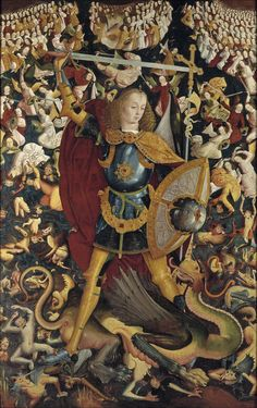Master of Zafra, Saint Michael, c. 1495
