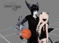 RebelAzzai, IMVU!, Game, imvu, Boy and Girl, Friends, Basketball.