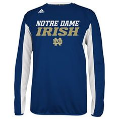 NEW ARRIVAL: Notre Dame Fighting Irish adidas 2013 Spring Game Football Sideline Climalite Long Sleeve Crew  http://www.fansedge.com/Notre-Dame-Fighting-Irish-adidas-2013-Spring-Game-Football-Sideline-Climalite-Long-Sleeve-Crew-_-1229781985_PD.html?social=pinterest_pfid42-56511