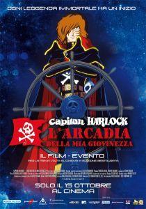 Capitan Harlock - L'arcadia della mia giovinezza Space Pirate Captain Harlock, Captain Jack Sparrow, Manga, Legos, Pirates, Arcade, Nerdy, Anime, Film