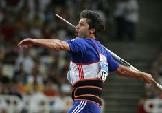 Javelin thrower Jan Železný, multiple titles holders, World champions and Olympic Gold medals winners He is ranked ranked the best in the world of all time, keeping world records in this discipline (since Action Pose Reference, Action Poses, Javelin Throw, World Athletics, Gold Medal Winners, Famous Sports, Olympic Gold Medals, Sports Personality, Sports Stars