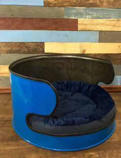 Oil Drum Dog Bed Repurposed Dog Bed Pet by TheCleverRaven on Etsy
