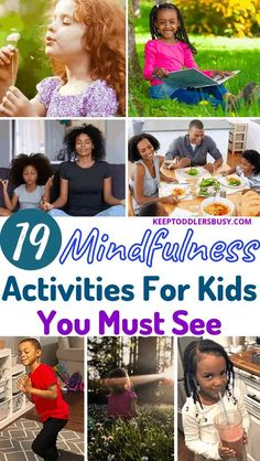 Check Out These 20+ Mindfulness Activities and Techniques To Help Teach Your Child How To Be Mindful and Present. Practicing Mindfulness Can Help Your Child Build Life Long Skills For Stress & Anxiety Mindfulness Books, Mindfulness Activities, Mindfulness Practice, Activities For 2 Year Olds, Toddler Activities, Learning Activities, Coping With Stress, Stress And Anxiety, Social Aspects