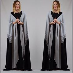 Abaya Cape by OC fashion in stock for delivery 5 pieces .