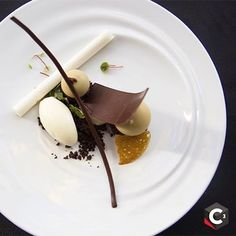 #ValrhonaC3 - @StarChefs and Valrhona are happy to offer a special discount ($100 off!) to Pastry professionals who would like to attend the C3 competition on Monday October 24th in NY. Use the code C32016 to purchase your ($99) ticket! Valrhona's mission is to create community and creative exchange between pastry professionals. Let the Valrhona C3 be a celebration of the trade! Link in profile for more information. Passion tuile, Rum-van ice cream, Coconut namelaka, Banana mousse, IILLANKA…