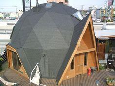 ユニークなBESSドームハウス