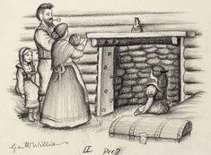 garth williams - little house - laura ingalls wilder