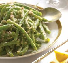 Green Beans with Walnut and Green Olive Tapenade | Recipe | Joy of Kosher with Jamie Geller