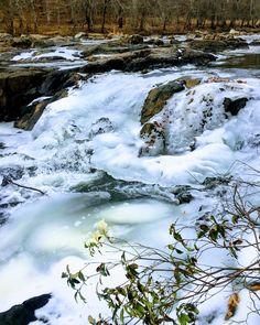 Eno River falls frozen. . . . . . . #nature #naturephotography #naturelovers #naturepic #natureshot #nature_prefection #naturegram #natureporn #natureonly #rivers #river #enoriver #enostatepark #enoriverstatepark #statepark #park #naturewalk #natureonly #naturebeauty #yesweather #weather #wral #wraloutandabout #naturegood #natureaddict #frozen #frozenriver #nature_wizards #nature_uc #outdoors @exploringnc @outaboutnc @explorecarolina @thenc100 @hdcarolina @northcarolinaco @100counties…