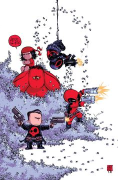 Thunderbolts #1 (Skottie Young Baby Variant Cover)