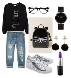 A fashion look from October 2017 featuring wool cashmere sweater, stretch boyfriend jeans and synthetic leather shoes. Browse and shop related looks. Cashmere Sweaters, Boyfriend Jeans, Mac Cosmetics, Leather Shoes, Hollister, Adidas Originals, Outfit Ideas, Fashion Looks, Cats