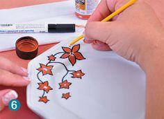 Aprenda a fazer pintura em porcelana e personalize suas louças - Casa