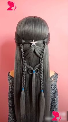 short hairstyles for over curly hairstyles kids, hairstyles for school medium length hairstyles for thin little girl short hairstyles african american, hairstyles braids to the side, hairstyles male indian. Easy Hairstyles For Long Hair, Amazing Hairstyles, Girl Hairstyles, Hairstyles Videos, Simple Braided Hairstyles, American Hairstyles, Hair Doo, Hair Upstyles, Grunge Hair