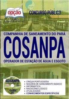 Apostila Operador de Estação de Água e Esgoto COSANPA 2017