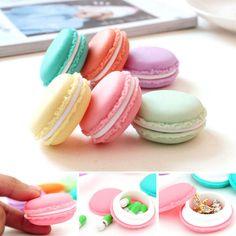 6 PCS Mini Earphone SD Card Macarons Bag Storage Box Case Carrying Pouch HOT V3 #E_comingWHOLESALE
