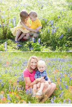 Spring Photo Session Ideas - Portrait Photography by Emily Crump Photography via iHeartFaces.com