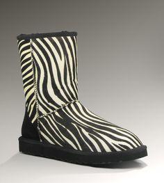zebra uggs. umm christmas please!?