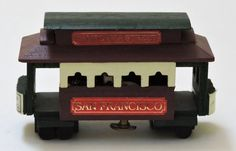 Vintage Musical Cable CarPlays I Left My Heart In San by QVintage Wooden Music Box, Music Boxes, Leave Me, Vintage Music, Small Boxes, Musicals, Birthday Gifts, Decorative Boxes, Cable
