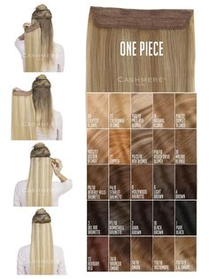 Shop our Rated Clip-In Hair Extensions. Add Volume, Length and style with our 100 % Human Hair Extensions. One Piece Hair Extensions, Blonde Hair Extensions, 100 Human Hair Extensions, Dark Blonde Highlights, Light Blonde, Cashmere Hair, Human Hair Clip Ins, Natural Blondes, Remy Hair