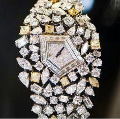 De Beers diamond watch ~ Instagram