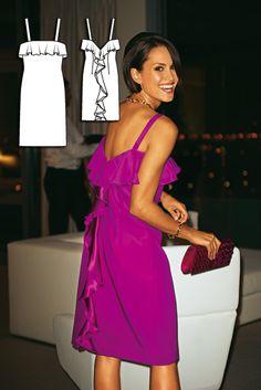 BurdaStyle 6/2010 #125 Dress