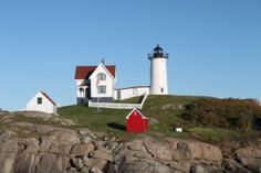 New England Lighthouse, Nubble Light....have seen this light, very beautiful!!JBC