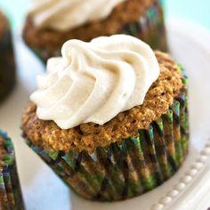 Vegan Oatmeal Cream Cupcakes HealthyAperture.com
