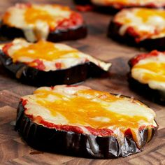 Cheesy Eggplant Pizza Recipe by Tasty