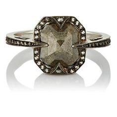 Mixed-Diamond Ring