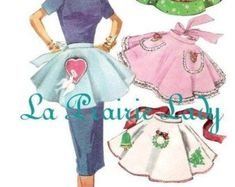 Your place to buy and sell all things handmade Embroidery Transfers, Half Apron, Aprons Vintage, Pdf Patterns, Aurora Sleeping Beauty, Etsy, Smile, Sewing, Apron Patterns