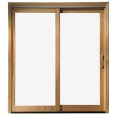 Pella Lifestyle Clear Gl Wood Left Hand Sliding Double Door Patio Common 72 In X 80 Actual 71 25