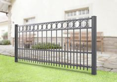 Exterior Handrail, Staircase Handrail, Iron Stair Railing, Fence Gate Design, Front Gate Design, Privacy Fence Designs, Balcony Grill, Iron Balcony, Balcony Railing