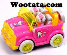 Mainan Musik Mobil Hello Kitty Terbaru