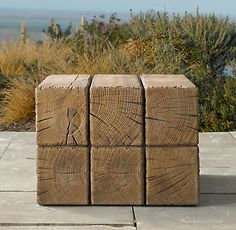 Aspen side table | Restoration Hardware