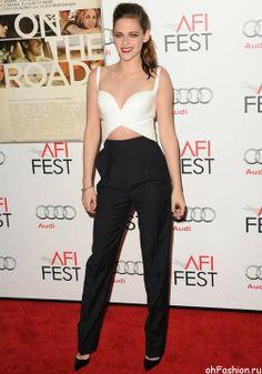 Кристен Стюарт с открытым животом, новый тренд Голливуда 2014