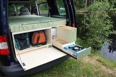 Auto Camping, Camping Hacks, Minivan Camping, Truck Camping, Diy Camping, Camping Gear, Camping Jokes, Camping Checklist, Beach Camping
