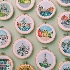 I am so excited to finally continue my <Sew Wanderlust> series next month! This time I'll be exploring Korea! Any recommendations on places I should visit?  (also open to any work collaborations in Seoul ) #sewwanderlust #embroidery #contemporaryembroidery #travel