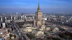 You can see this building from the air in Warsaw while landing Visit Poland, Poland Travel, Warsaw Poland, Europe Travel Guide, Travel Destinations, Disneyland Paris, Best Cities, Staycation, Places To See