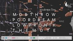 Mobthrow live in Athens, Greece, on June 1st, 2014.