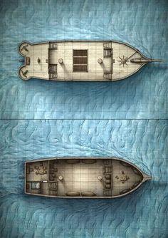 D&D Ship Map