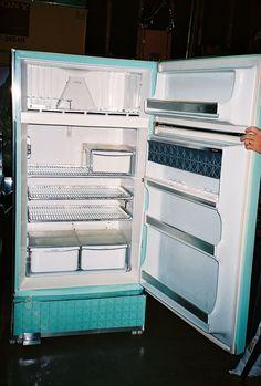 Vintage 1950 S Coolerator Refrigerator Vintage