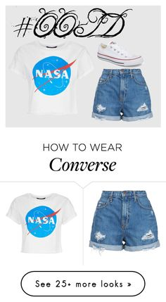 """""""#OOTD99"""" by lilythefangirl on Polyvore featuring Nobody Denim, Converse, ootd and polyvorefashion"""