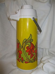 Groovy 10 cup thermal Carafe by RueTrouve on Etsy, $25.00