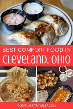 Where to find all the best comfort food in Cleveland, Ohio, including all our favorite cozy dishes. #foodie #cleveland Cleveland Food, Cleveland Restaurants, Cleveland Rocks, Smoked Wings, Best Street Food, Best Comfort Food, 50 States, Foodie Travel, Food Network Recipes