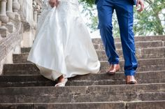 His & Hers Wedding Shoes