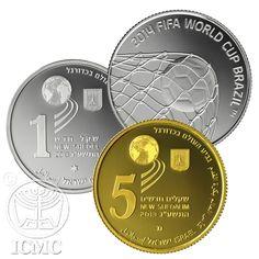 Israel lança moedas da Copa da Mundo