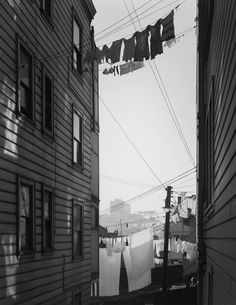 Hot Monday Afternoon, San Francisco, California, c.1935 #Fotografía Ansel Adams @Qomomolo goo.gl/z0C7ml